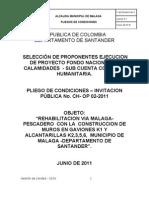 Pliegos de Condiciones - Gaviones y Alcantarillas_colombia_humanitaria