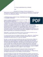 Algerie Fondements de La Politique Algerienne