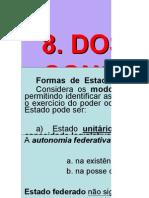 principios const.organização politicaadministrativa do estado brasileiro.