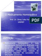 Aula Medicamento Homeopatico