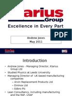 Andrew Jones - MAS2011 Presentation