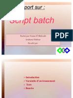 Script Batch