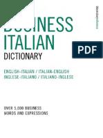 Business Italian Dictionary