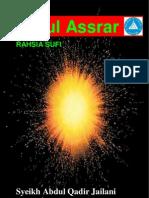Sirrul Assrar - Syeikh Abdul Qadir Jailani