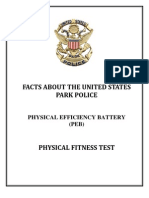 US Park Police PEB Prep Training Program