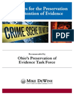Guidelines for Preservation and Retention of Biological Evidence