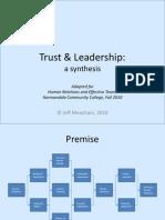 Trust & Leadership