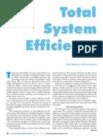 Total System Efficiency
