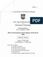 Data Communication and Computer Networks II 206