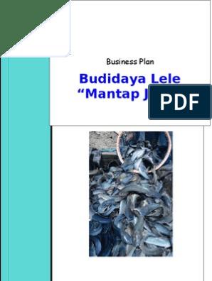 Proposal Budidaya Lele
