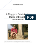 A Blogger's Guide to the Battle of Franklin (Kraig McNutt)