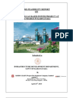 Pre Feasibility Study Mundargi Gas Based Power Plant
