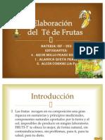 te de frutas