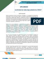 Información detallada del DIPLOMADO Gestión y Conectividad de redes bajo plataforma CISCO -