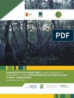 Diagnostico de Asimetrías de Regulaciones Ambientales en el Golfo de Fonseca