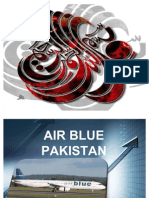 Project on AIRBLUE Pakistan