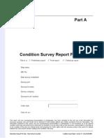PART a - Condition Survey Report Form