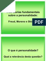As Teorias Fundamentais Sobre a Personalidade