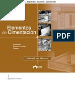 Elementos de Cimentación - Manual del Usuario