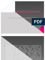 MIDIAS EDUCACIONAIS