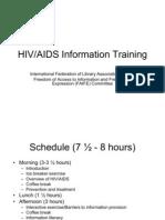 IFLA HIV AIDS Workshop
