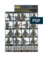 Special Forces Hand Signals