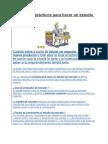 5 Consejos prácticos para hacer un estudio de mercado