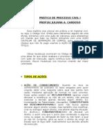 Pratica de Processo Civil i Aula 1[1]