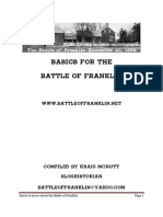 Battle of Franklin Basics