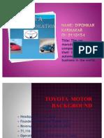 Toyota Motors Corporation