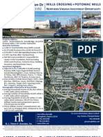 DC Metro Investment Property Mills Crossing Strip Mall