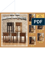Chairside End Table Program T007