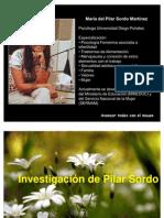Investigacion de Pilar Sordo