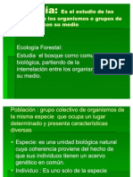 Ecologia Forestal