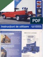 Manual de utilizare Dacia Papuc Diesel 1.9 DoubleCab