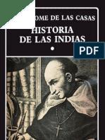 HISTORIA DE LAS INDIAS I de Fray Bartolomé de Las Casas