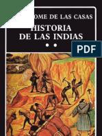 HISTORIA DE LAS INDIAS II de Fray Bartolomé de Las Casas