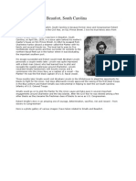 Robert Smalls and Beaufort - a visual guide