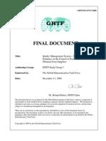 GHTF Supplier Controlsg3final N17