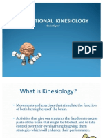 Educational Kinesiology