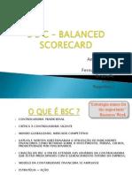 Controladoria e Balanced Scorecard