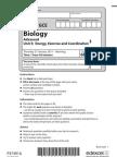 Bio Unit 5 Jan 11 Paper