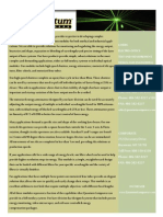 Quantum Composers Laser Information Sheet