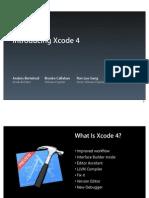 307 Introducing Xcode 4