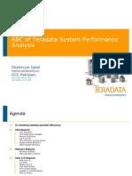 ABC of Teradata System Performance Analysis