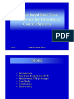 Matlab for Distributed Control Systems