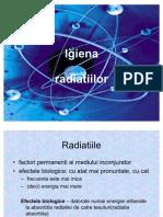Igiena radiatiilor