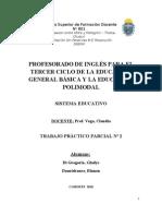 T.P 2 Parcial. Sistema Educativo (1)
