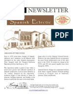 Design Guide Spanish Eclectic Architecture