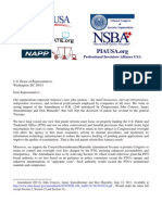 Letter Opposing H.R. 1249 from the National Small Business Association, the Institute for Electrical and Electronic Engineers, and Others